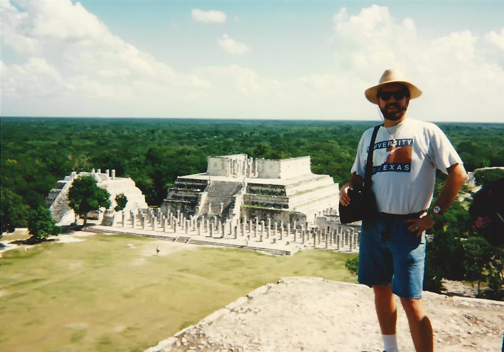 roger-and-the-temple-of-the-warriors-from-atop-el-castillo