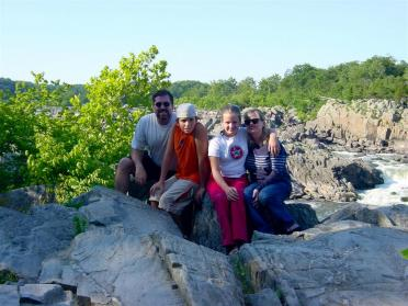 The Balettie Bunch at Great Falls National Park