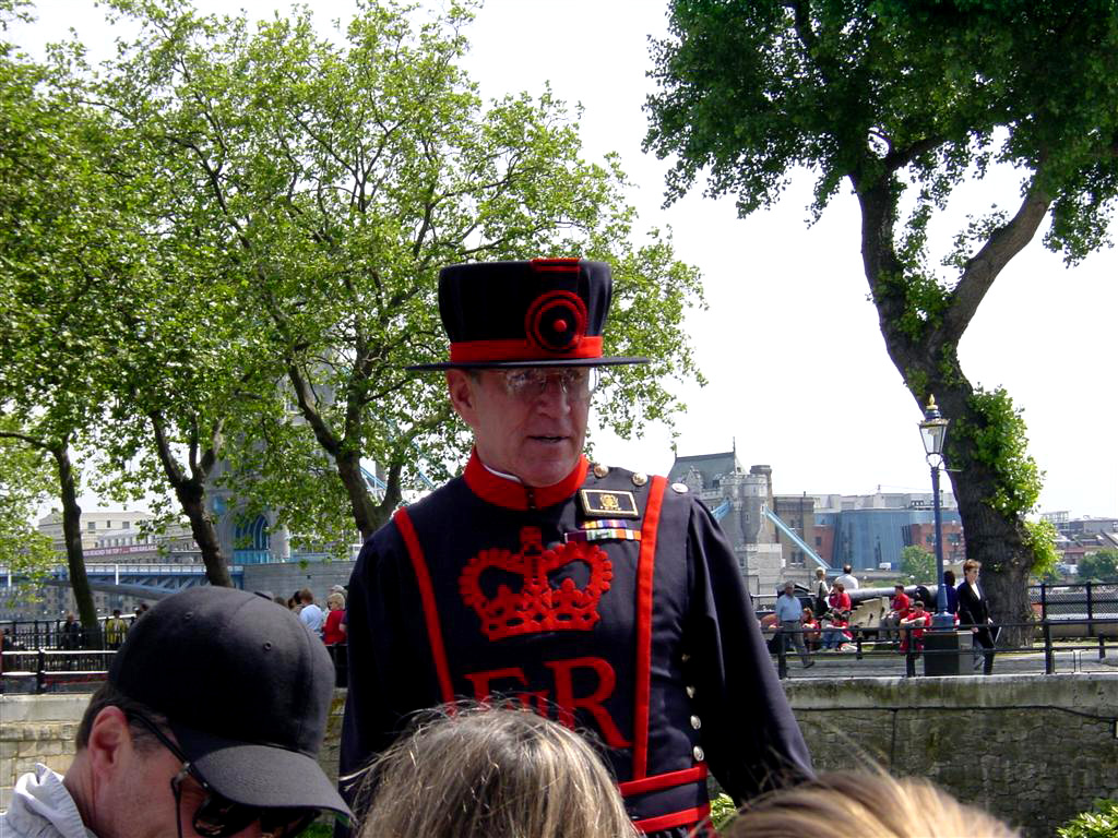 Patrick - Beefeater at Tower of London