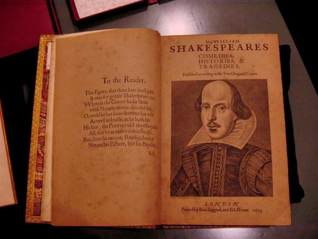 Shakespeare First Folio