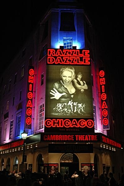 Going to see 'Chicago' on London's West End