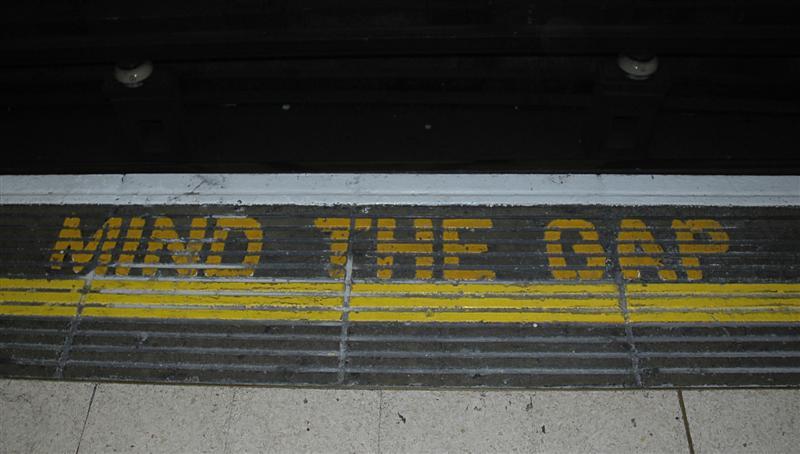 Mind… the Gap!