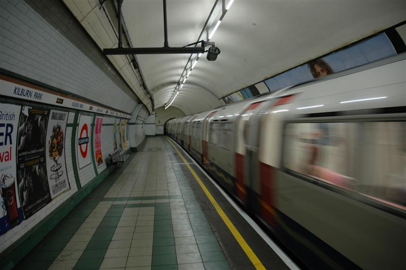 Riding the Underground!