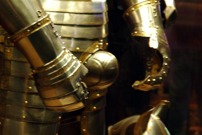 Tower of London - Henry VIII's codpiece