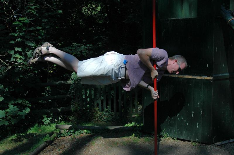 Julian's world at pole trick