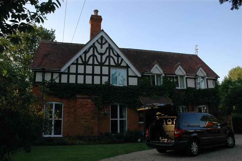 Woodland Cottage back garden