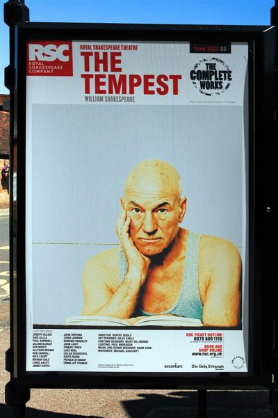 Patrick Stewart stars in The Tempest