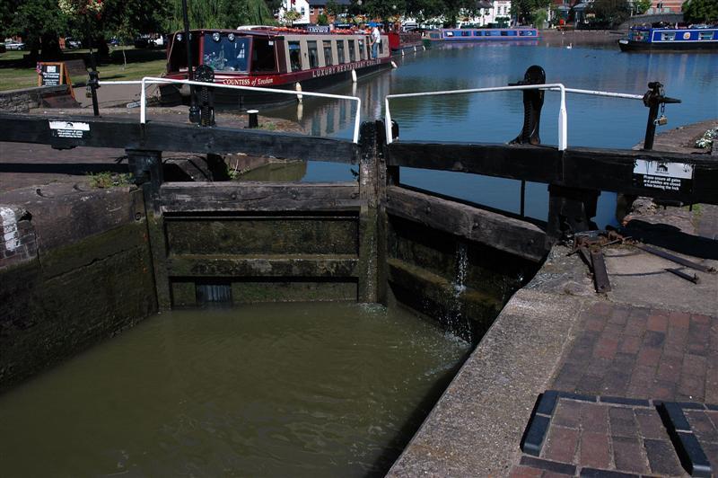 River Avon lock system