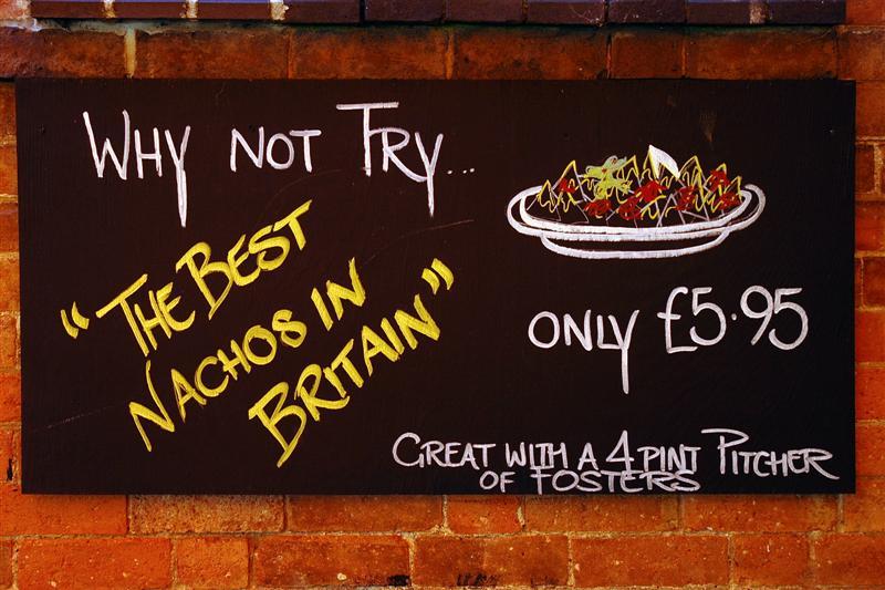 The Best Nachos in Britain