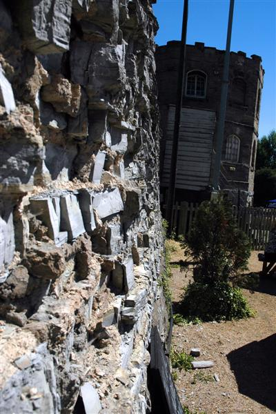 Unsafe wall