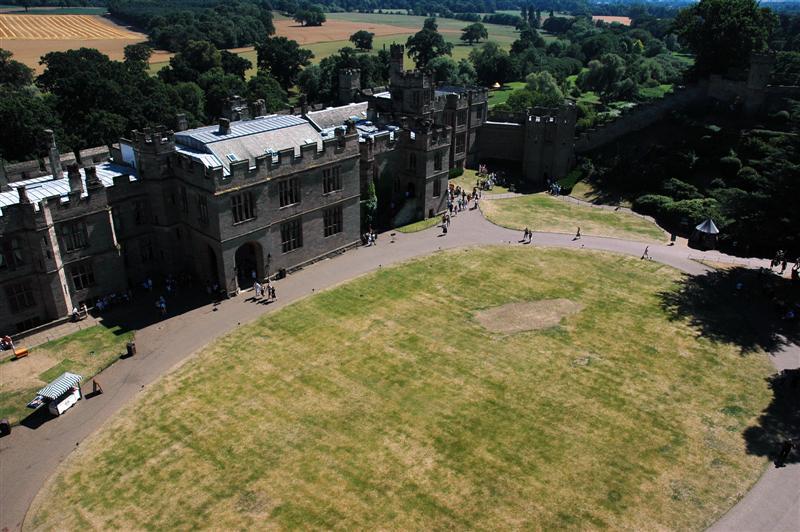 Warwick Castle rampart views