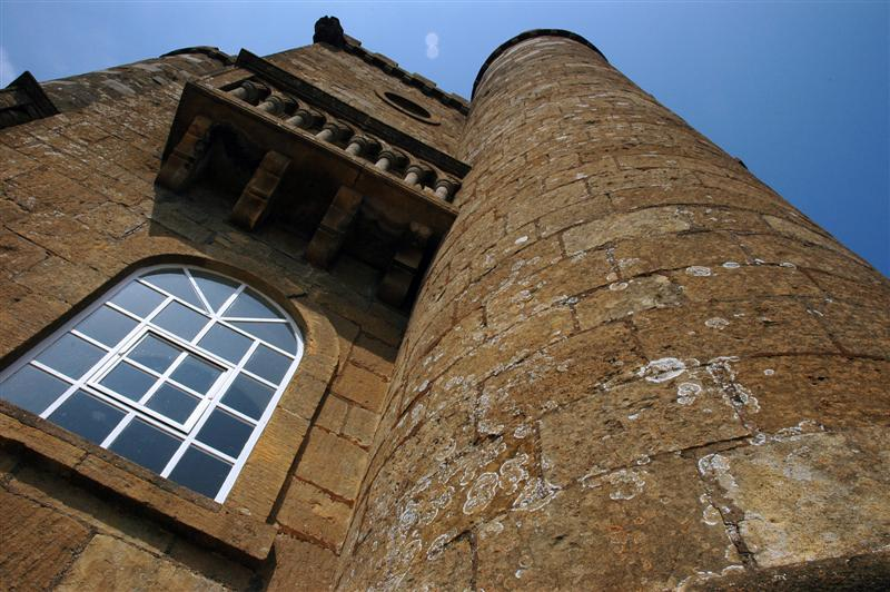 Broadway Tower - looking up