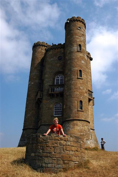 Melanie and the Broadway Tower