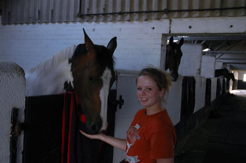 Melanie inside Little Charingworth Stud stables (4)