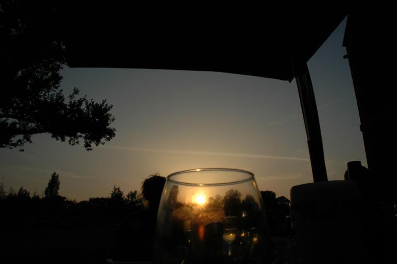Oakleigh House sunset (2)