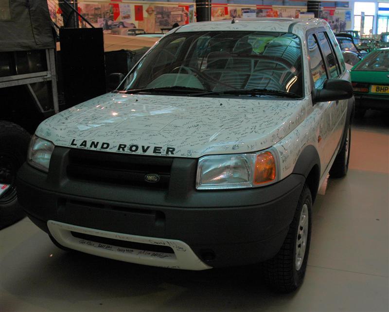British Motor Heritage Centre - First Land Rover Freelander