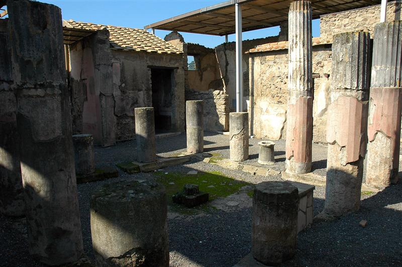 Pompeii - House of the Fawn (4)