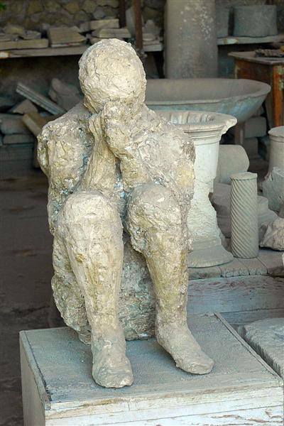 Pompeii - body casts (10)