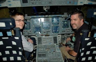 Mark and Roger - Space Shuttle CCT