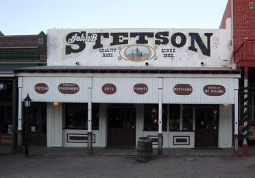 Tombstone Stetson store
