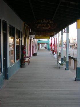 Tombstone storefronts