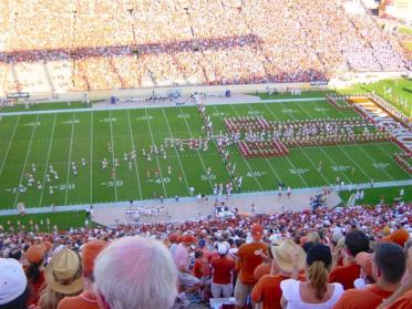 Horns enter the field