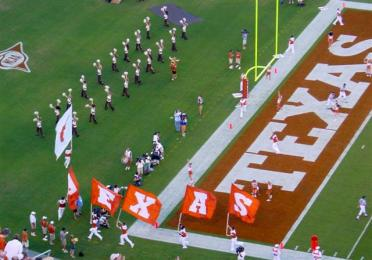 TEXAS flags post score!