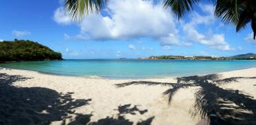 Emerald Beach panorama