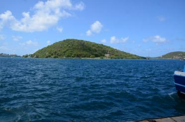 Hassel Island across from Charlotte Amalie Harbor