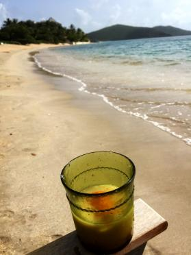 Painkiller and Mahoe Bay
