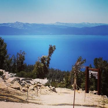Lake Tahoe - atop Heavenly