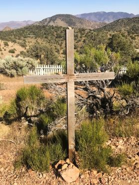 Virginia City cemetery - simple marker