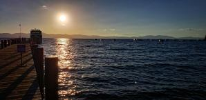 Lake Tahoe - Zephyr Cove pier sunset 01