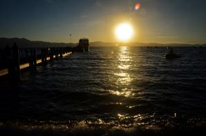 Lake Tahoe - Zephyr Cove pier sunset 03