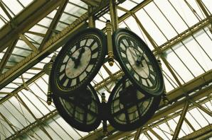 Waterloo Station clock