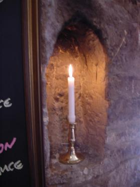 Candle in Dormy House (2)