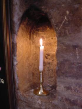 Candle in Dormy House (3)