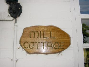 Mill Cottage sign