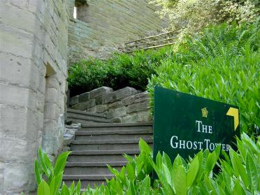 Warwick Castle - the Ghost Tower