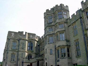 Warwick Castle - the living quarters
