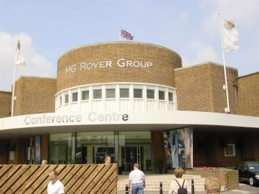 MG Rover Group headquarters