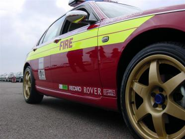 Rover75 fire fighter