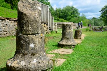 29May15 - Chedworth Roman Villa, The Pudding Club