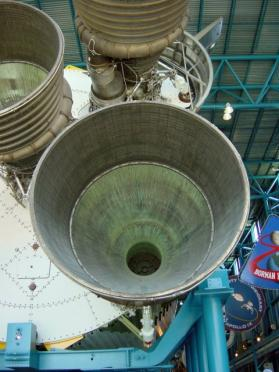 KSC - Saturn V J1 engines