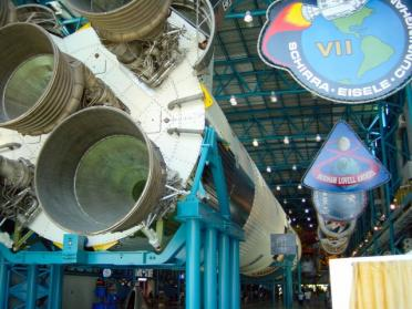 KSC - Saturn V perspective