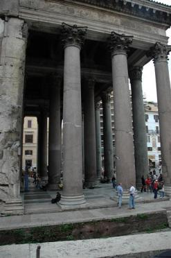 Columns at Pantheon