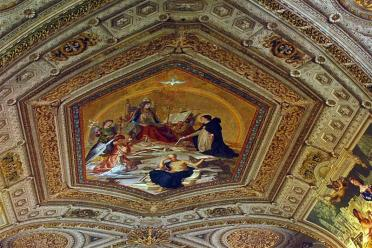 Painted ceiling details (3)