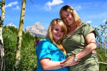 KM and Tetons