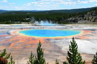 Grand Prismatic - from atop hill on Fairy Falls trail (4)