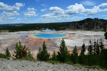 Grand Prismatic - from atop hill on Fairy Falls trail (6)